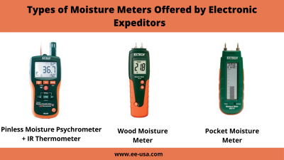 Types of Moisture Meters Offered by Electronic Expeditors
